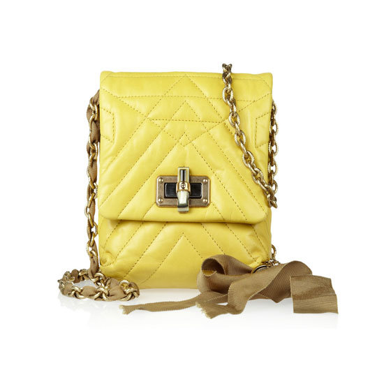 Bag, approx $1,366, Lanvin at Net-a-Porter