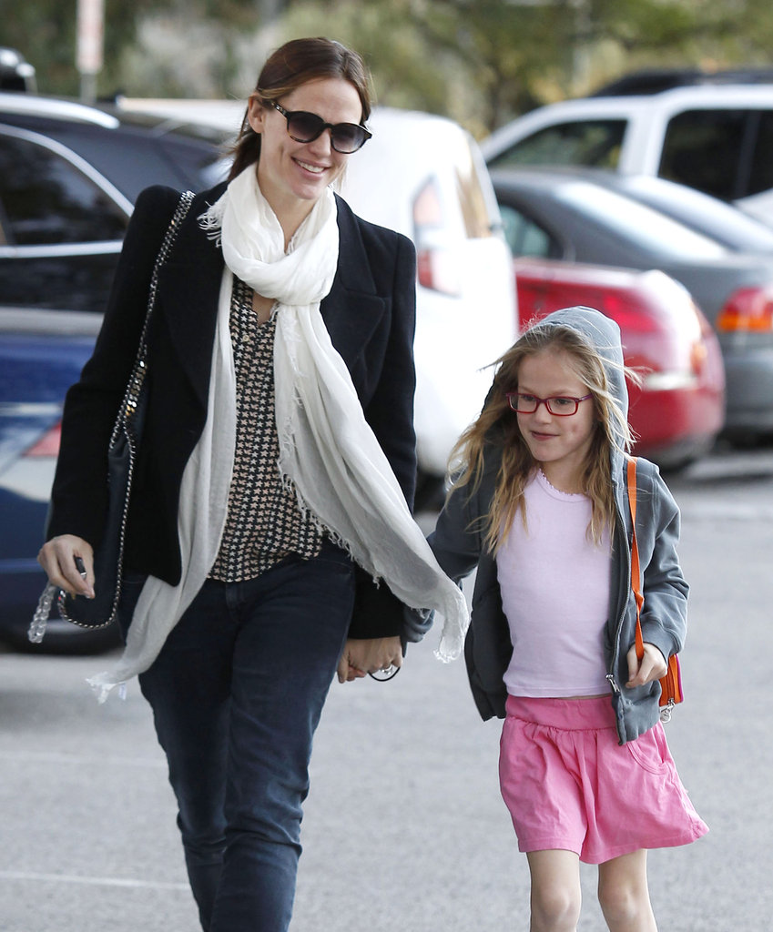 Jennifer Garner and Violet Affleck had a park date in LA.