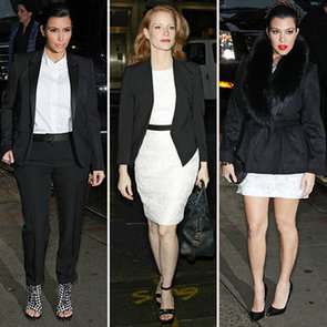 How to Wear Black and White Together