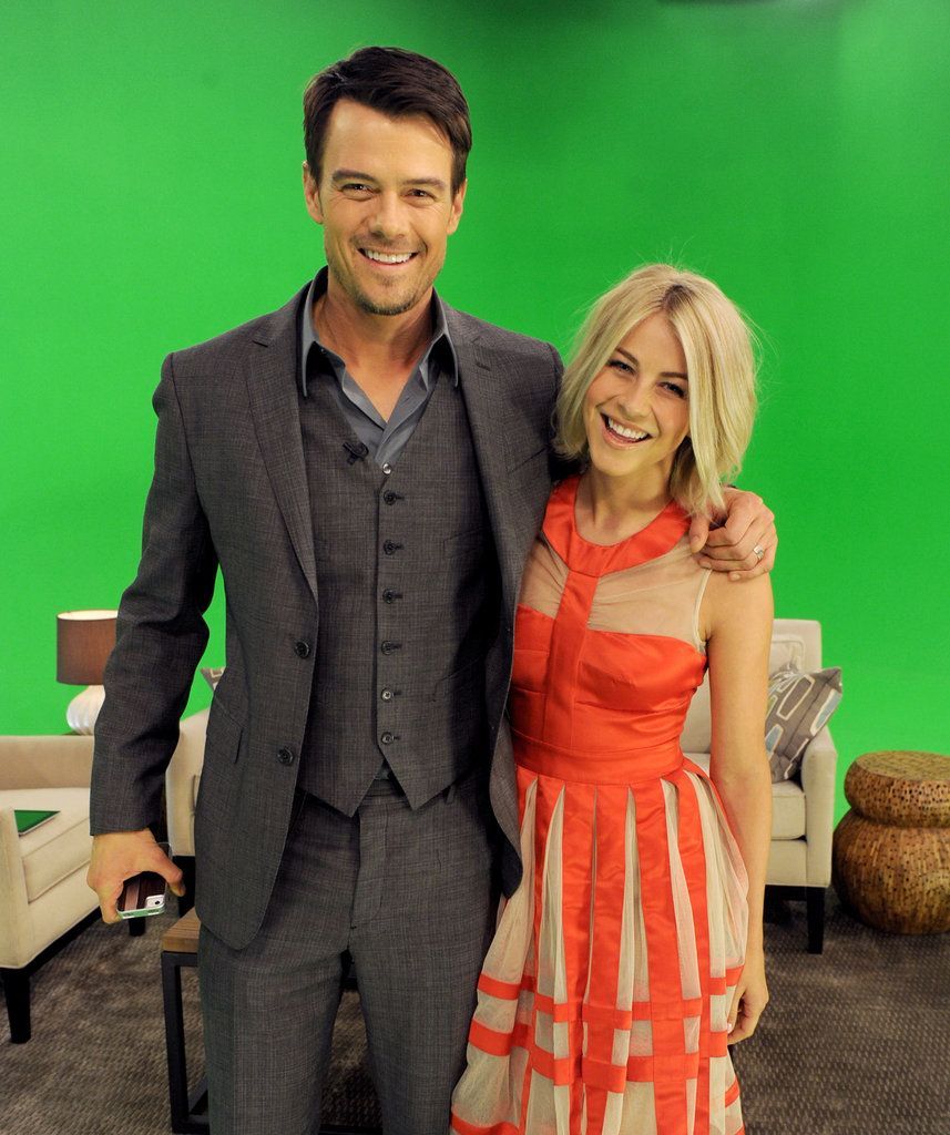 Julianne Hough and Josh Duhamel teamed up for the theater event.