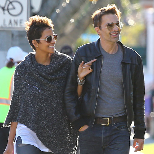 Halle Berry and Olivier Martinez in Santa Monica | Pictures