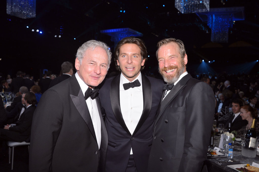 Victor Garber and his parner Rainer Andreesen posed with Bradley Cooper.
