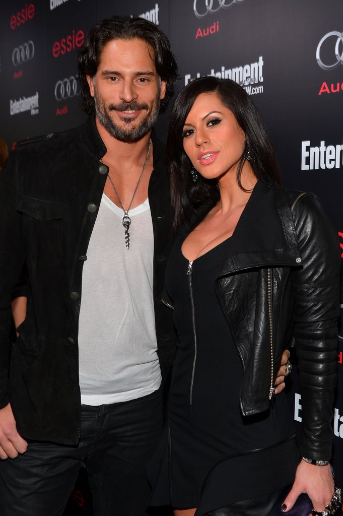 Joe Manganiello brought new girlfriend Bridget Peters to Entertainment Weekly Pre-SAG party in LA.