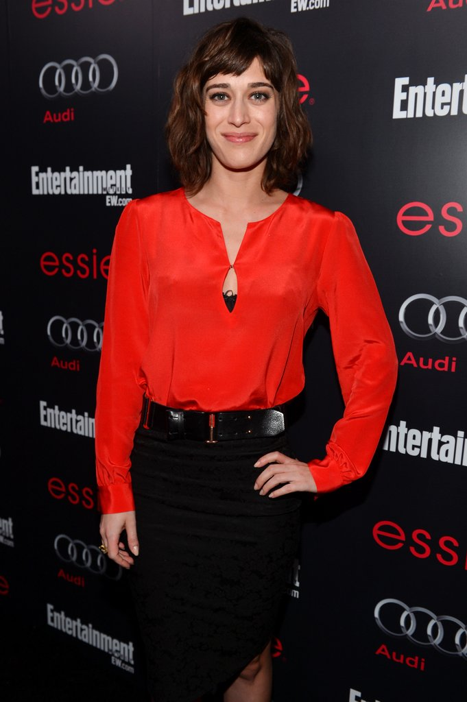 Lizzy Caplan attended the Entertainment Weekly Pre-SAG Party in LA.