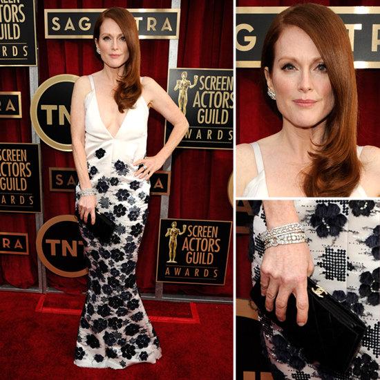 Julianne Moore: SAG Awards Red Carpet Dresses 2013