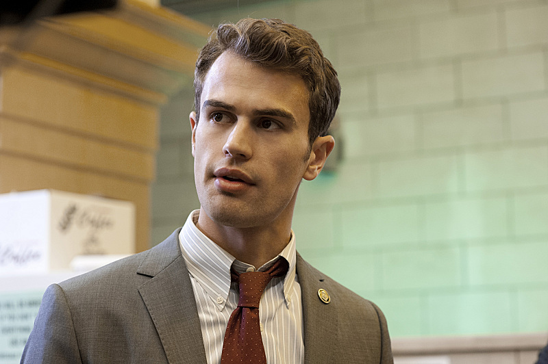 Theo James on Golden Boy.