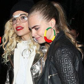 Cara Delevigne and Rita Ora's Stylish Accessories