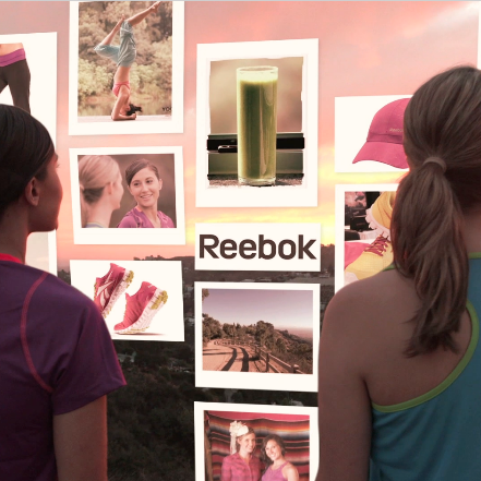 Reebok Pin-spiration Winners Sarah and Candice