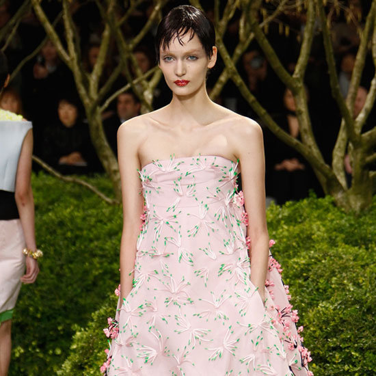 Raf Simons's botanical designs for Christian Dior were absolutely stunning. See our top 10 looks from the couture collection.