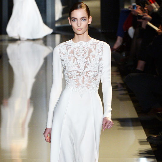 We have a hunch that we'll be seeing the Elie Saab Couture Spring 2013 collection on the red carpet soon.