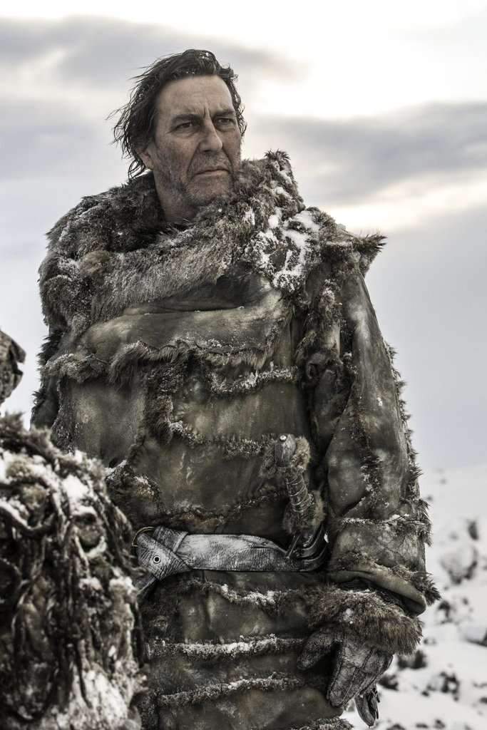 Mance Rayder (Ciarán Hinds) shows himself!