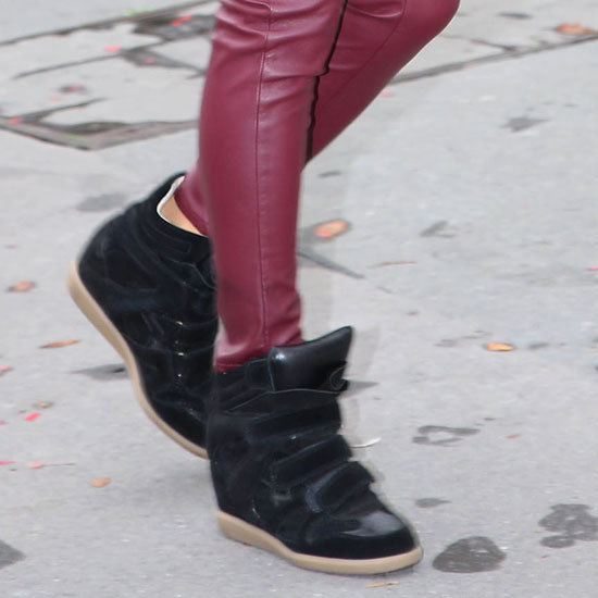 High Top Sneakers (Celebrity Style)