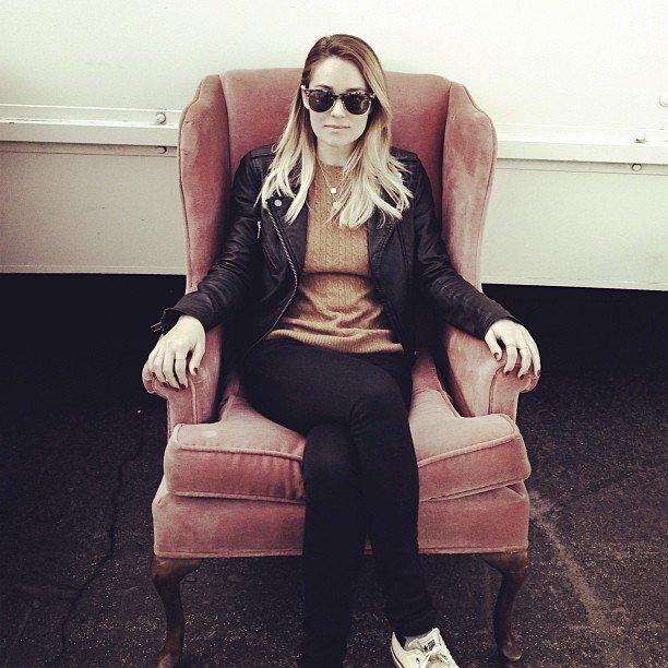 LC shopped for vintage furniture.  Source: Instagram user laurenconrad