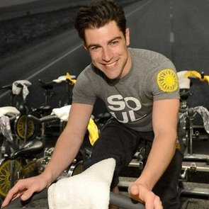 Max Greenfield Workout and New Girl Interview   January 2013