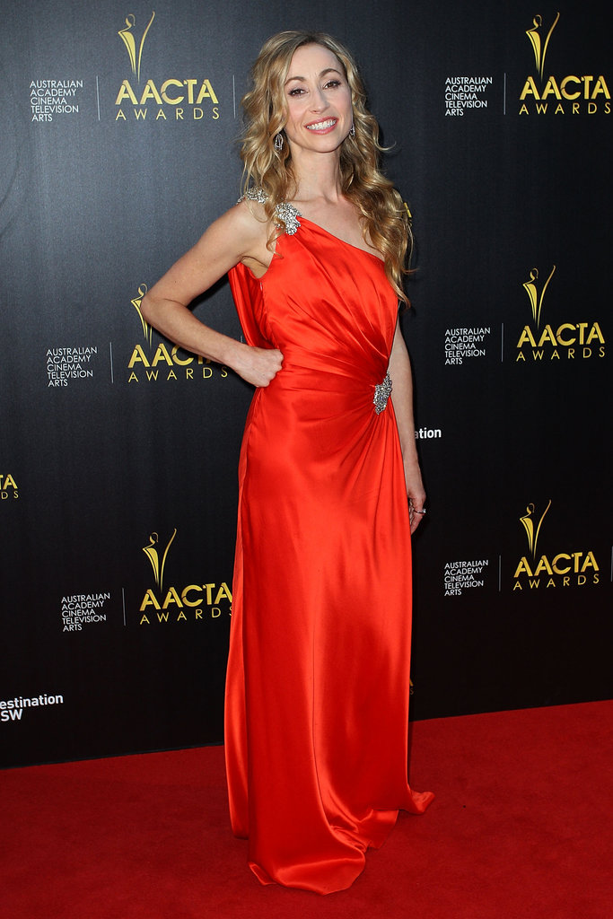 Felicity Price attended the AACTA Awards in Sydney.