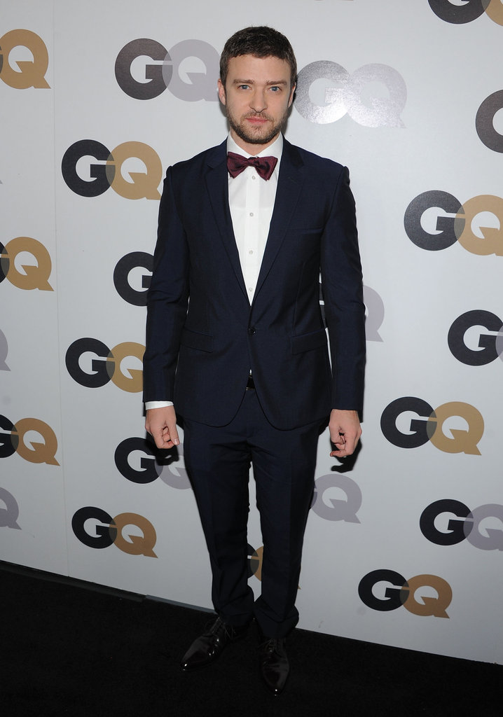 We couldn't get enough of Justin's maroon bow tie at the GQ Men of the Year party in 2011.