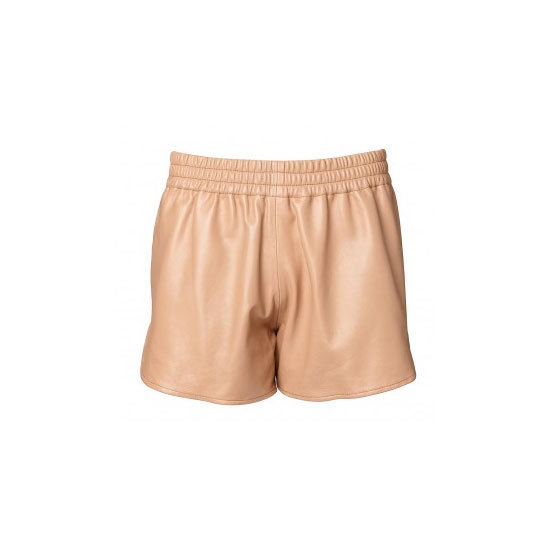 I'm really going to miss wearing shorts with elasticised waists! I've really taken to the sporty-trend and would live in these leather joggers until the very last glimpse of sun came out! — Marisa, publisher Shorts, $199.95, Witchery