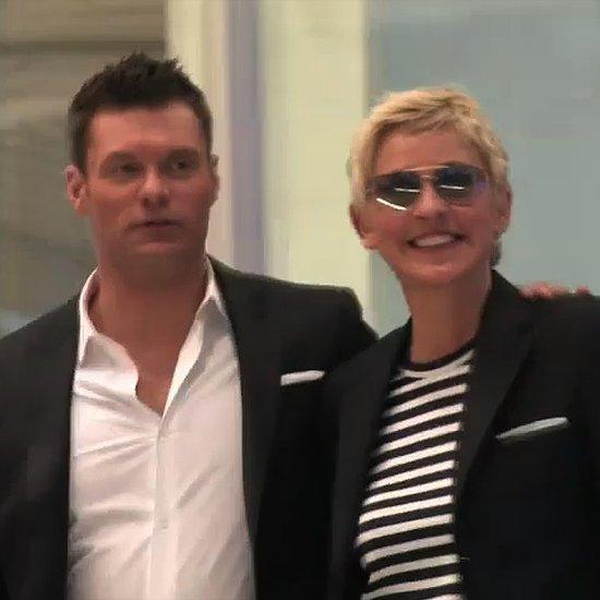 Ryan Seacrest Interview on Ellen DeGeneres Show (Video)