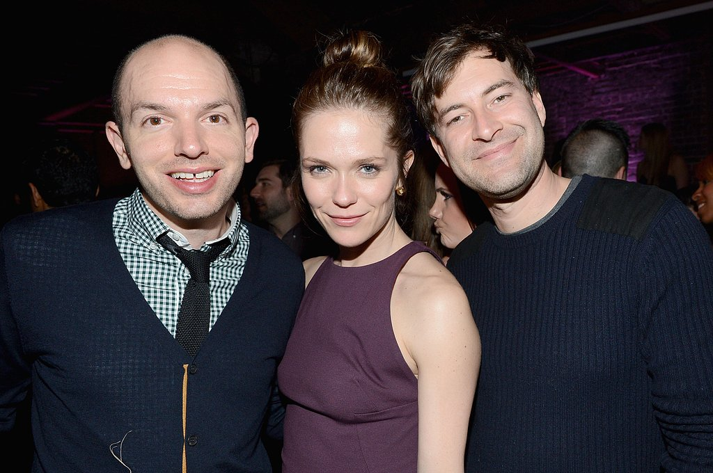 Paul Scheer, Mark Duplass, and Katie Aselton attended the Audi cocktail party during Super Bowl weekend 2013 in New Orleans.