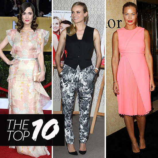 Top Ten Best Dressed of the Week: Rose, Diane, Lara & More!