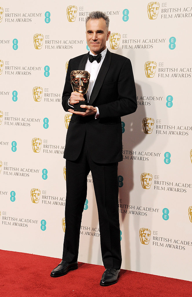 Daniel Day-Lewis held his award.