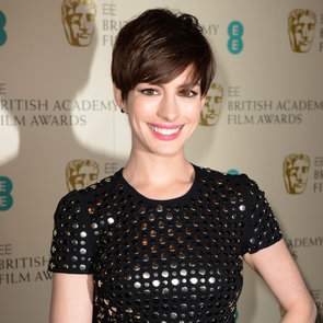 Anne Hathaway in Burberry Pictures at 2013 BAFTA Awards