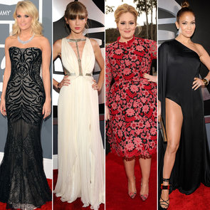 2013 Grammy Awards Red Carpet Pictures and Dresses