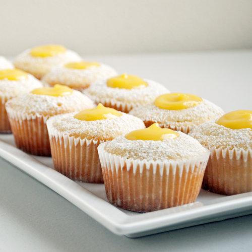 Lemon Cupcakes Filled With Lemon Curd | POPSUGAR Food