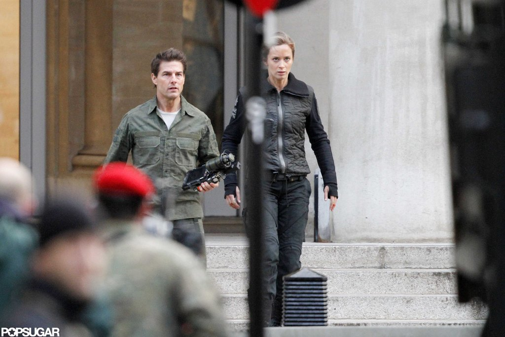 Tom Cruise and Emily Blunt filmed in London.