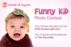 Circle of Moms' Funny Kid Photo Contest