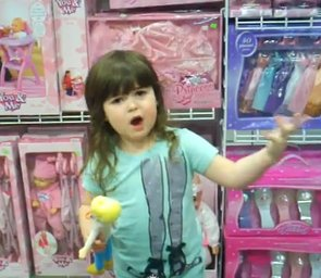 """4-Year-Old's Rant: """"Why Do All The Girls Have To Buy Pink Stuff?"""" (VIDEO)"""