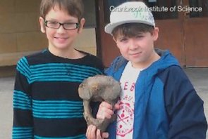 Two Boys Find 13,000-Year-Old Fossil