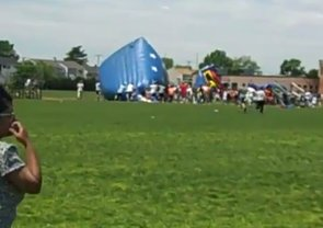 Terrifying Bounce House Accident Caught on Video