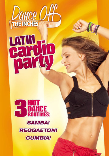 Dance Off the Inches Latin Cardio Party DVD Review