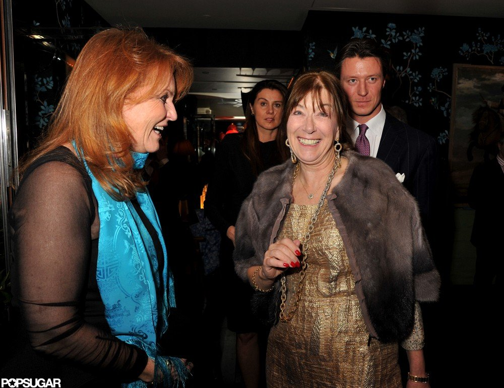 Sarah Ferguson was out in London to celebrate Chinese New Year.