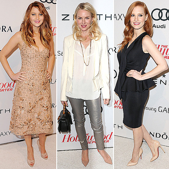 Celebrities Frock Up for Hollywood Reporter Pre-Oscars Party