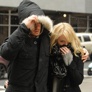 Emma Stone and Andrew Garfield Walking Through NYC Snow