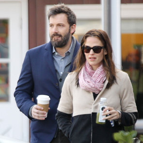 Ben Affleck and Jennifer Garner With Seraphina (Pictures)