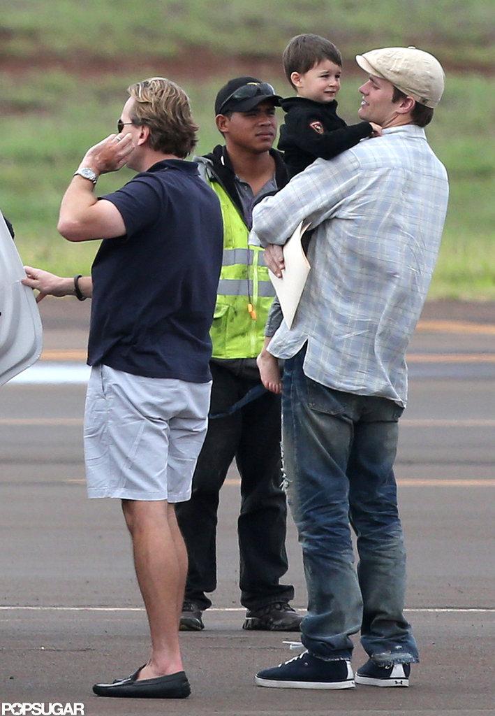 Tom Brady carried Ben in Hawaii.