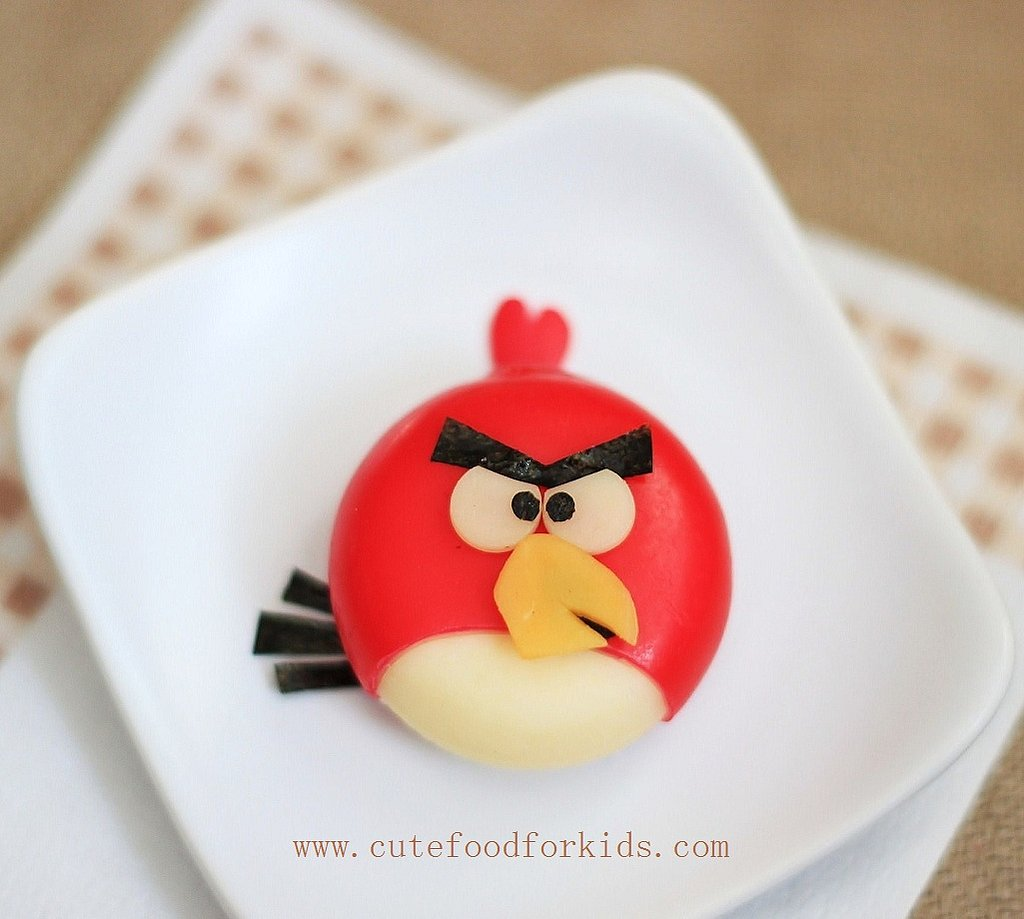 Babybel Angry Birds