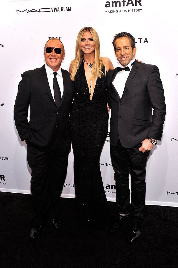 Michael Kors, Heidi Klum and Kenneth Cole