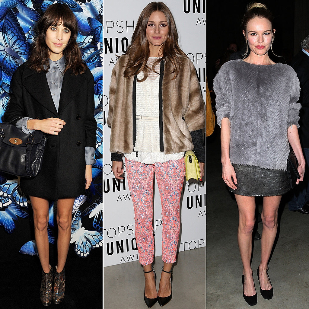 Alexa, Olivia, and Kate Bring Their Best to London Fashion Week