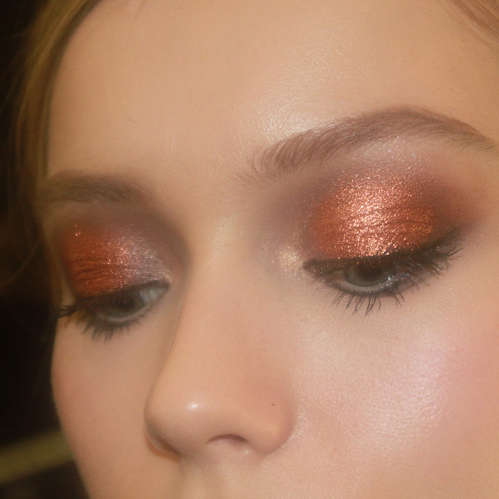 2013 Fall NYFW: The Bronze Eye Look You'll Wear Everywhere at J. Mendel