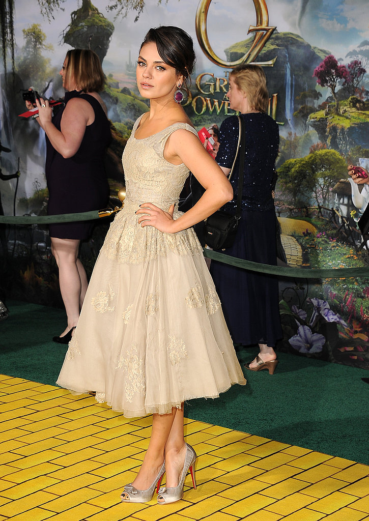 Mila, Michelle, James and More Premiere Oz the Great and Powerful