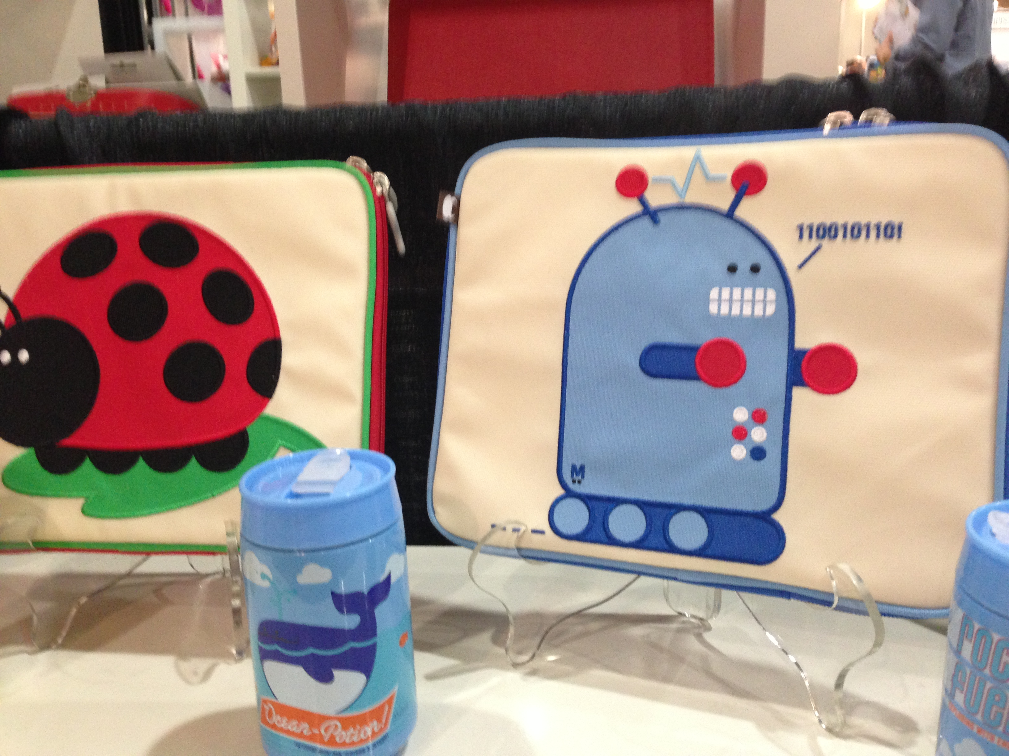 Beatrix New York's lunch boxes and wheelie bags are a celeb fave.