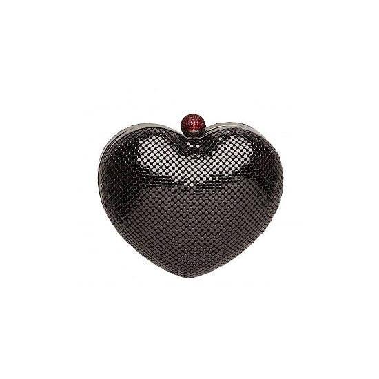 Is there any time more appropriate to incorporate a heart-shaped clutch into your wardrobe than Valentine's Day? I think not. This little cutie is perfect for a date night — it holds all your essentials, fits the theme and provides a good talking point if things go stale!  — Genevieve, associate editor Bag, $149, Mimco