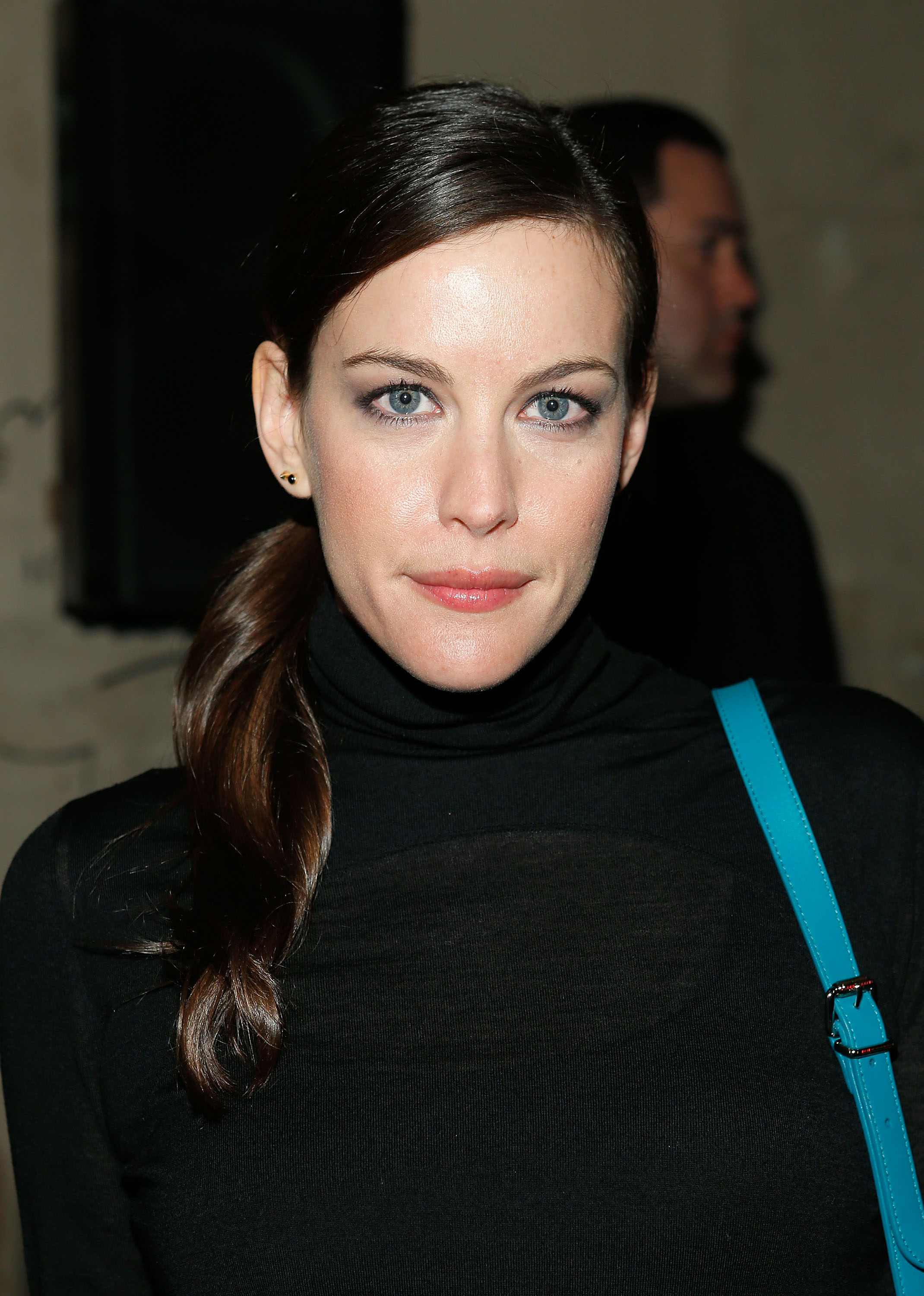 Liv Tyler (spotted front row at Proenza Schouler) knows you can never ... Liv Tyler
