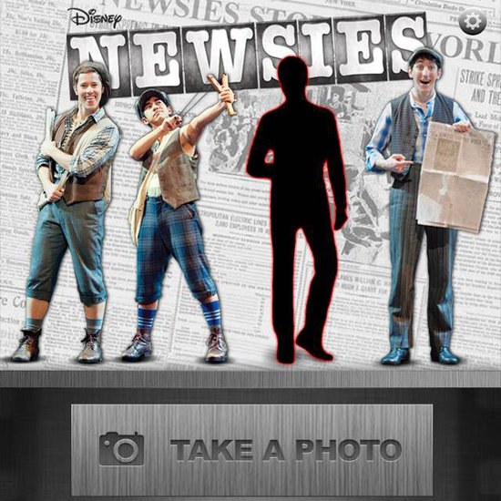 Newsies Phone App