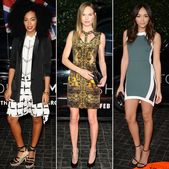 Topshop Draws a Seriously Stylish Crowd to Its LA Opening