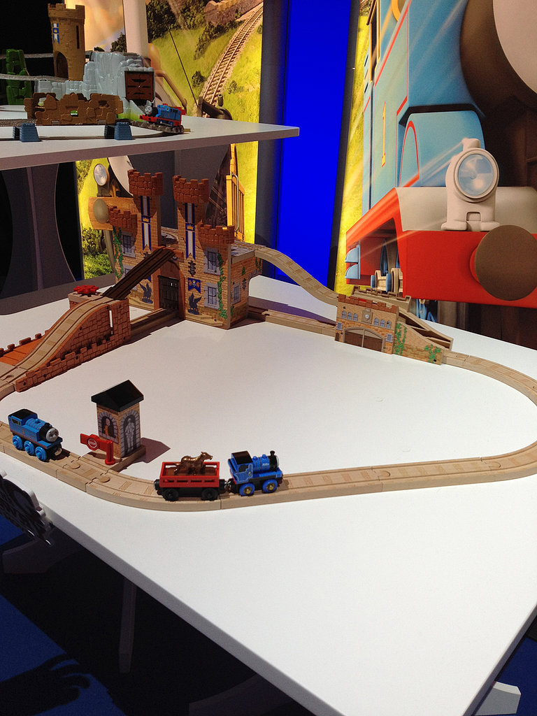 Mattel will be expanding their wooden Thomas offerings this year.